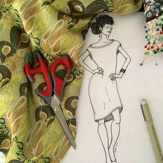 #gaforina #projeto #moda #surfacedesign #designdesuperficie #designtextil #sew #fashionblogger #fashion #raport #fabric #tecido #minhaestampa #croqui