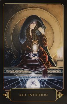 Featured Card of the Day – Intuition – Dreams of Gaia by Ravynne Phelan « Tarot by Cecelia
