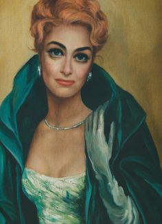 Joan Crawford by Margaret Keane