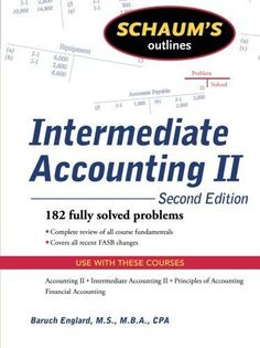 Free test bank for advanced accounting 12th edition by hoyle schaums outline of intermediate accounting ii 2ed schaums outlines fandeluxe Choice Image