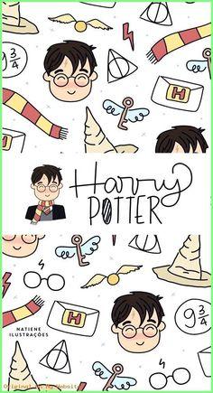 Wallpaper Iphone Aesthetic HARRY POTTER WallpaperIphonefunny W. Harry Potter Anime, Harry Potter Diy, Images Harry Potter, Harry Potter Drawings, Harry Potter Tumblr, Harry Potter Quotes, Disney Wallpaper, Cartoon Wallpaper, Wallpaper Samsung