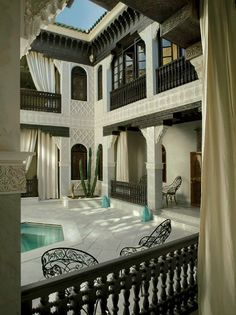 Another Moroccan home where every inch is hand sculpted with care.
