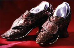 Martha Custis Washington shoes