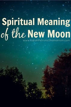 Manifestation and the new moon - learn how it works and why.