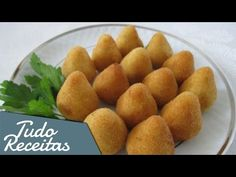 Coxinha de mandioca assada // fit e deliciosa - YouTube