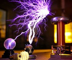 Get the young whipper snappers interested in science by having them build their very own mini musical Tesla coil. The kit comes with everything needed to easily build a compact singing Tesla coil that emits a charming melody as the sparks fly.