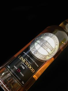Montrose Fine Wines, Hong Kong - Vertu members have limited access to a 25 year old single malt whisky, made from Linkwood which produced only 250 bottles in the world.