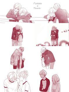 Touma e Futaba , I really did love them together ♥♥