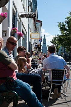 Down town Reykjavik.  NCO eCommerce,  www.netkaup.is