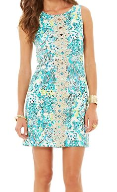 Lilly Pulitzer Ember Shift Dress in Escapades in the Everglades