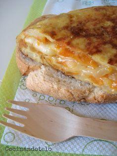 Cocinándotelo: TORTILLA DE PATATA Y BONIATO