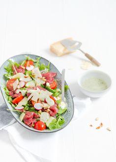 carpacccio salade