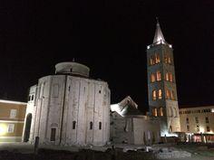 Zadar by night