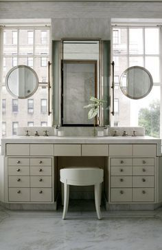 Bathroom Window Above Sink how to hang a mirror on a window | hanging mirrors, wall spaces