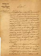 General Santa Anna wrote to General Filisola the day after the battle at San Jacinto,