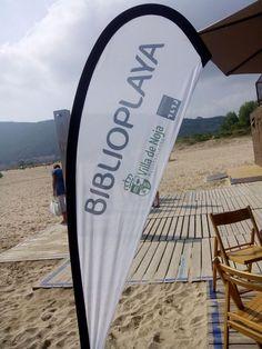 Biblioplaya Villa de Noja. #libraries #bibliotecas Llegar a una playa y enamorarse para siempre de la misma #biblioplaya pic.twitter.com/nh2HMISfbi