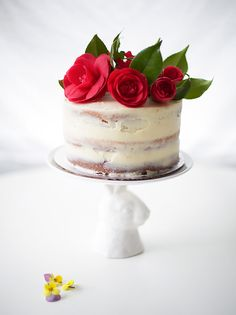 DIY Rose Cake for Easter