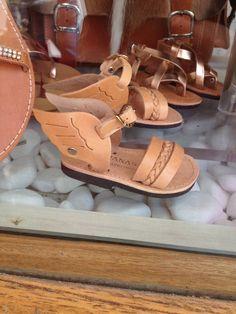 Greek sandals - Mykonos town - Mykonos, Greece   Karoliina Kazi - read more at www.karoliinakazi.com