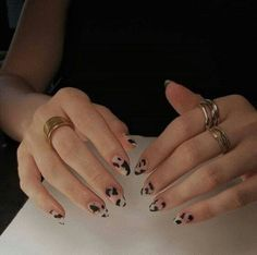 Related posts:Black nail polish with glitter nail art ideaNails in the sun - shinningClassic watch and nails Nail Design Stiletto, Nail Design Glitter, Sally Hansen Miracle Gel, Milky Nails, Cow Nails, Nail Polish, Nail Nail, Toe Nail Des, Gel Nail Art