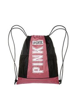Victoria's Secret PINK Drawstring Backpack Soft Begonia ** You can get more details at