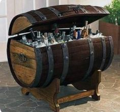 Great rustic cooler design for entertaining for all your family get togethers and parties! There are two different style base options for you to choose from, the x design table stand, and the curved style base. Please indicate in your order which style base youd prefer.  Standard Size: