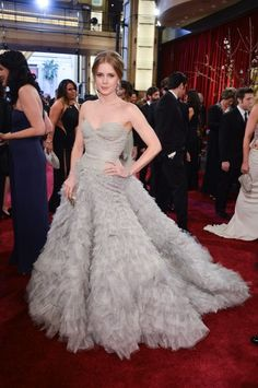Red Carpet Moments at The Oscars 2013 - Amy Adams / Photo by George Pimentel