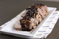 rosemary balsamic pork tenderloin