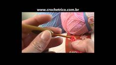 Crochê para Canhotas - Guia de Pontos - Aula 09 - Ponto Barra 1X1