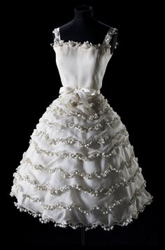 """Muguet"" Dress Christian Dior Haute Couture S/S 1957"