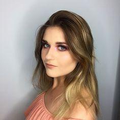 Purple Rain ☔️☔️ #makeup #mua #makeupartist #makijaż #wizaż #wizazystka #purple #purplemakeup #pinkglow #glow #pantone #makijazwroclaw #wroclaw #beauty #eyes #eyeshadow 🔮🔮