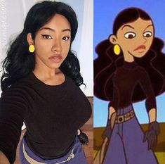 Dress Like Monique Dress Like These Characters Disney Shows Raven Costume Girl Cartoon
