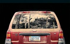 Car Turned Canvas – A Collection Of The Best Dirty Car Art   by Scott Wade