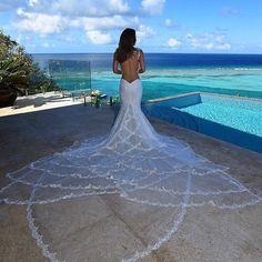 Mermaid wedding dress with a mermaid tail train . - Mermaid wedding dress with a mermaid tail train - White Bridal Dresses, Sexy Wedding Dresses, Bridal Gowns, Wedding Gowns, Bride Dresses, Wedding Bride, Rustic Wedding, Ugly Dresses, White Dress
