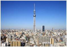 TOKYO SKYTREE 634m the tallest freestanding broadcasting tower in the world