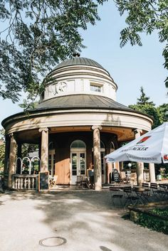 A Weekend in Stuttgart: Best Sights and Tips - Sommertage Stuttgart Germany, City Library, Walk Past, Street Furniture, Beer Garden, Great View, Gazebo, Outdoor Structures, Travel
