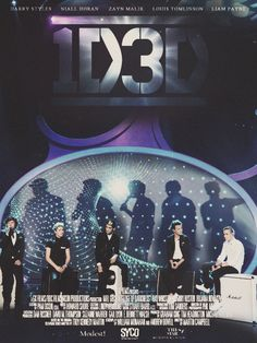 THE 1D 3D MOVIE POSTER IS JUST TOO MUCH