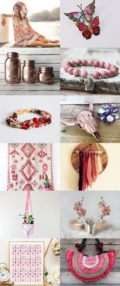 Dusty Pink by Tatin on Etsy--Pinned+with+TreasuryPin.com