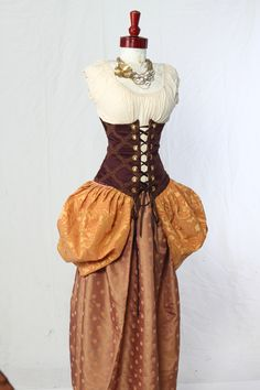 Quality Handmade Corsets for vibrant, passionate women who want an adventure-filled, romantic life! Sizes up to Styles in Steampunk, Renaissance, Pirate! Damsel In This Dress, Steampunk Halloween, Corsets, Cosplay Costumes, Renaissance, Board, Dresses, Women, Style