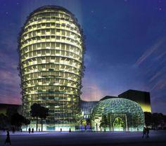 Cactus Skyscraper: Qatar's Eco-friendly Structure