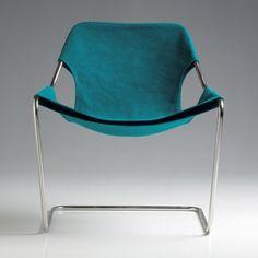 shari-vari:    Paulistano canvas armchair by Paulo Mendes da Rocha for Objekto