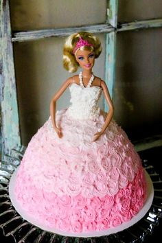 Barbie in buttercrea