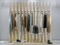 """COS, London, UK, """"A selection of essential pieces for the modern wardrobe"""", pinned by Ton van der Veer"""
