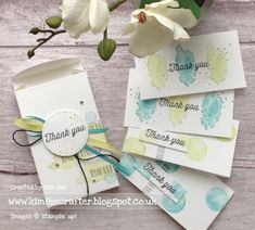 Eclectic Expressions box of tricks, Stampin Up!