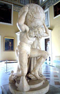 Atlas ------------------ (Greek Mythology)