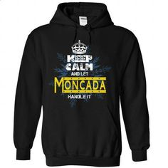 Keep Calm and Let Moncada Handle It Noel - #pretty shirt #raglan tee. SIMILAR ITEMS => https://www.sunfrog.com/Valentines/Keep-Calm-and-Let-Moncada-Handle-It-Noel-Black-Hoodie.html?68278
