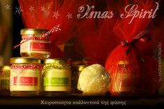 handmade creams by Anthi Vaporidou. Xmas spirit for special gifts!
