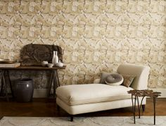 Multi-layered leaves inspired from the original design by Morris in 1874. A perfect example of the layering for which he became synonymous. £48.00 per roll from Fallon4Interiors.com