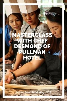 To be good at something, it needs lotsa practice and the skills would then develop along the learning experience. Last Thursday, I had a great time and it was a priceless experience at Pullman Hotel. I get a hand on experience on learning 2 dishes … Pullman Hotel, The Learning Experience, Master Class, Thursday, About Me Blog, Join, Dishes, Flatware, Plates