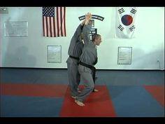 Hapkido Behind Double Wrist Grab Techniques 1 thru 7, Ji Han Jae - YouTube