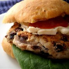 Black Bean Turkey Burgers Allrecipes.com